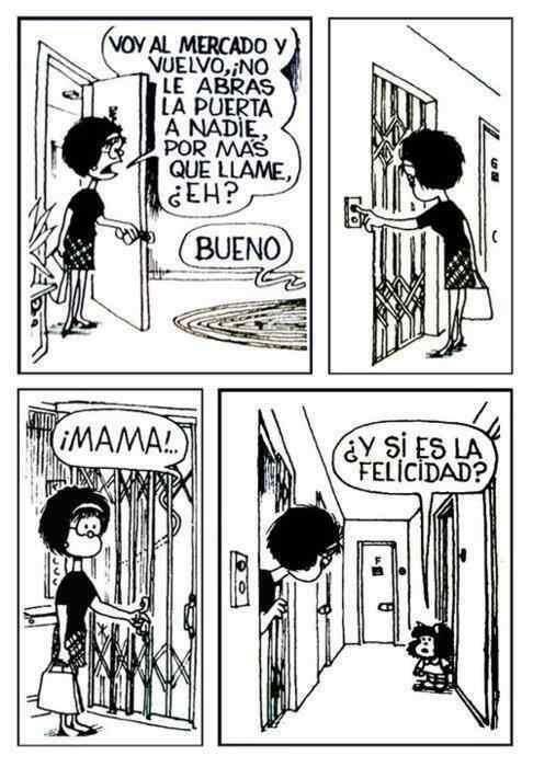 Adiós al maestro Quino, padre de Mafalda
