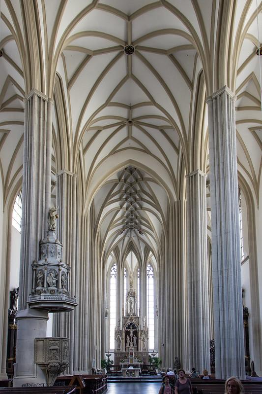 Church of St. James, Brno, Moravia, Czechia