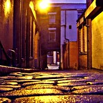 Atmospheric alley in Preston