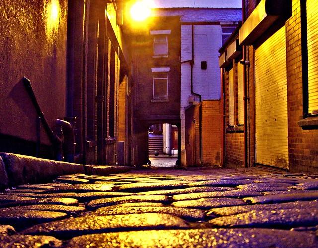 Atmospheric alley in Preston