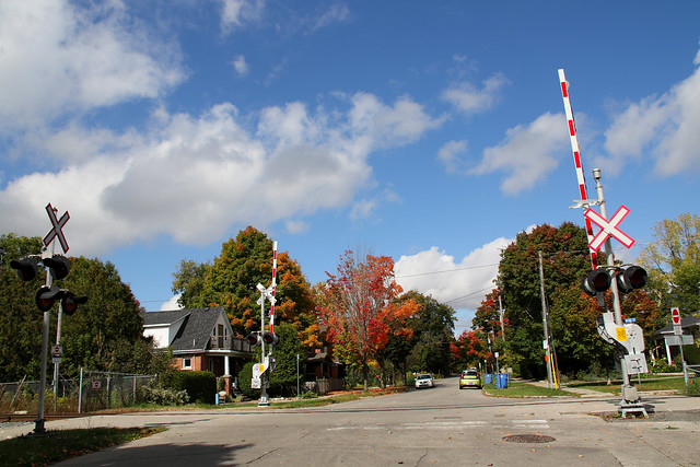 Guelph Photo: Metrolinx Wants to Close Glasgow St N Grade Crossing