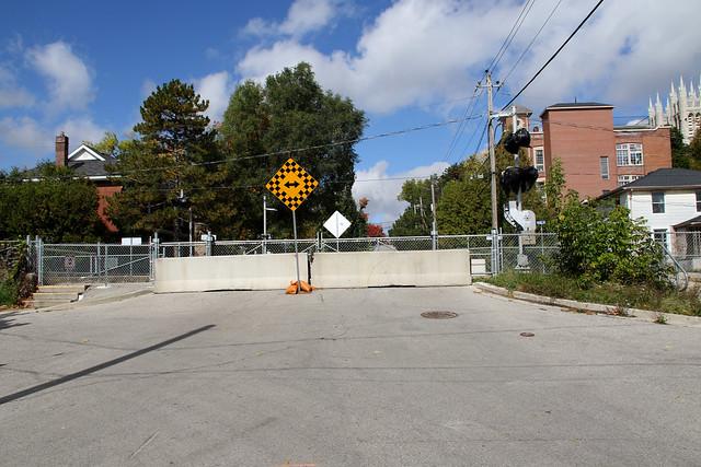 Guelph Photo: Metrolinx Close Dublin St N Grade Crossing
