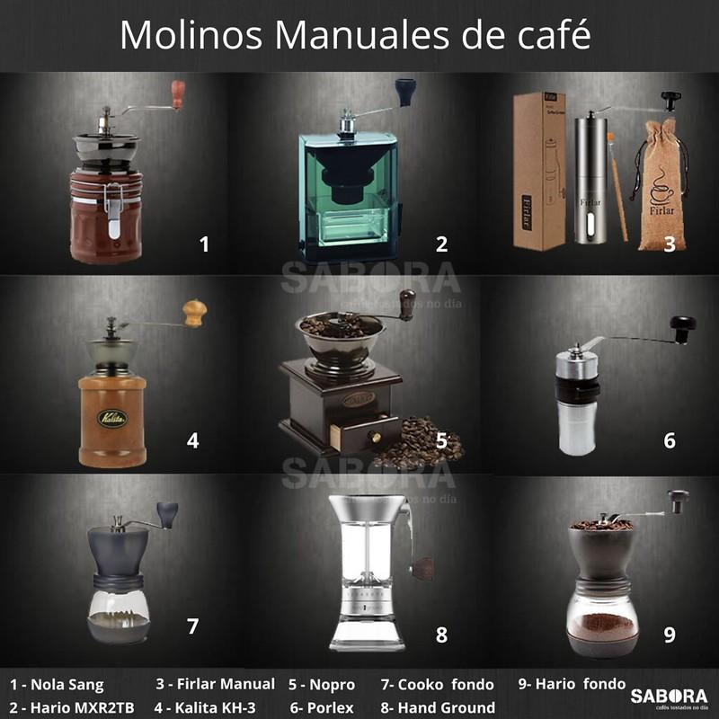 Molinos Manuales de café