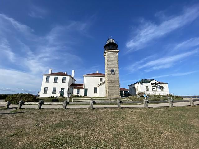 Beavertail Lighthouse and Beavertail State Park, RI