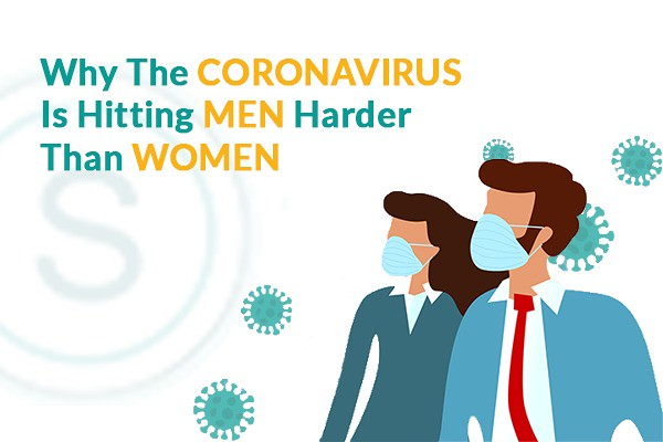 Why is the coronavirus hitting men more than women