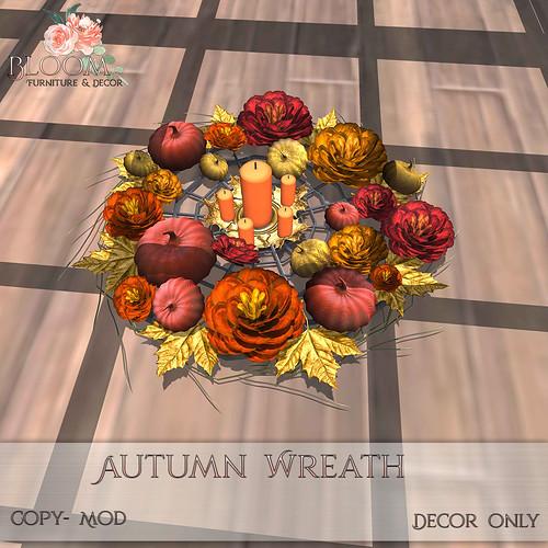 Bloom! - Autumn WreathAD