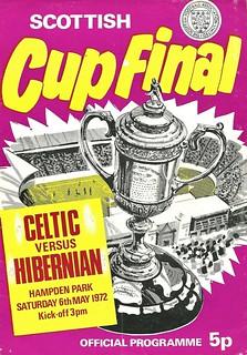 Celtic v Hibernian 19720506