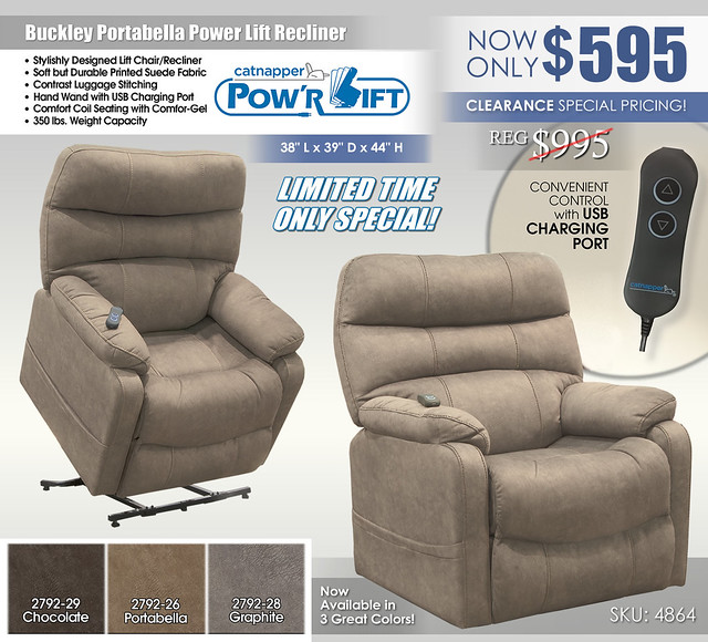 Buckley Portabella Power Lift Recliner_4864
