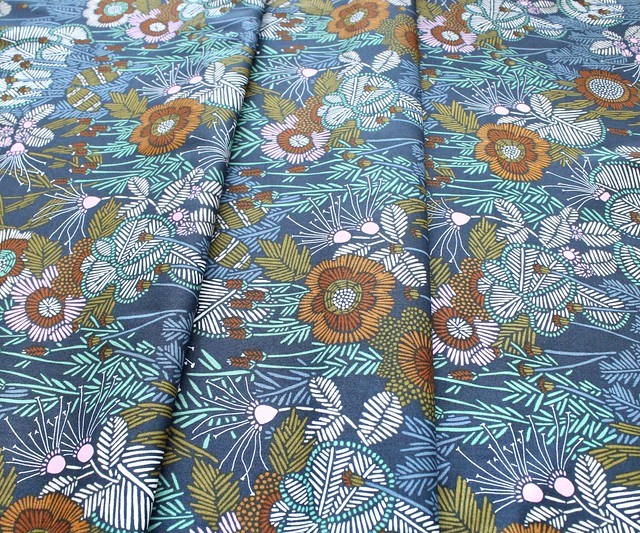 Cloud9 Fabrics Grasslands 226976 Embroidered Floral