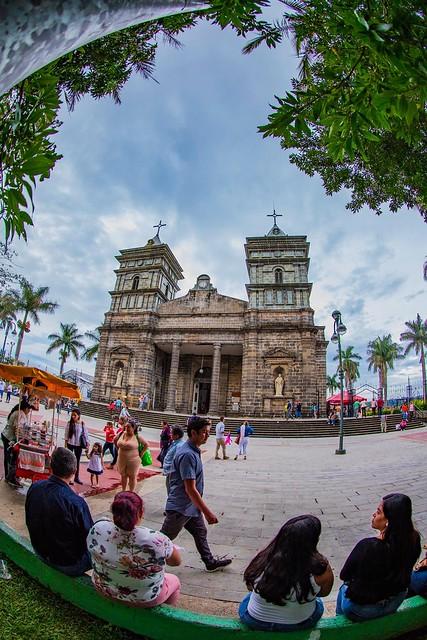 Templo Parroquial de Palmares, Costa Rica.