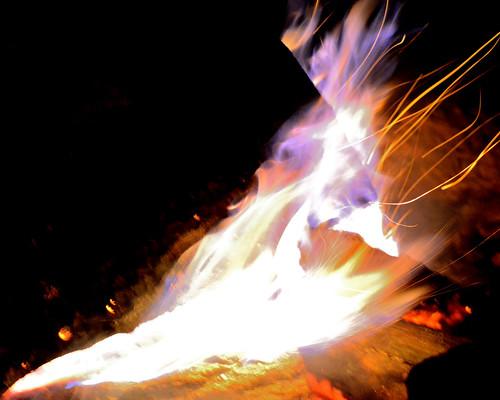 campfire moon new katuah mountains event guests celebration potlach firetender evening sunset night fire klonteska appalachia appalacha