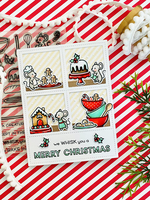 whisking you a Merry Christmas (Lawn Fawn inspiration week)