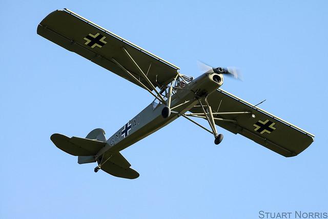 Fi-156A-1 Storch G-STCH - Peter Holloway