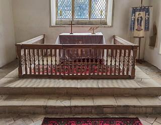 three-sided altar rails