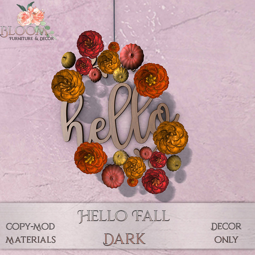 Bloom! - Hello Fall DarkAD