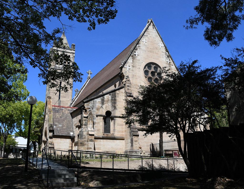 St John's Anglican Church, Glebe, Sydney, NSW.