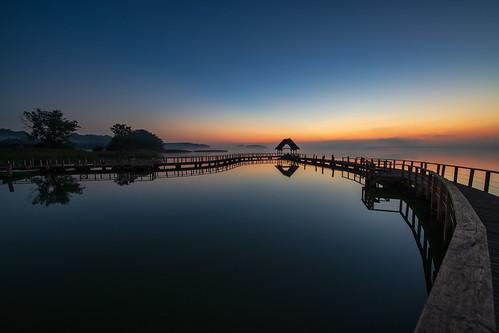 see sea natur himmel sonnenaufgang sunrise steg hemmelsdorfer horizont ngc landscape seascape sky lake clouds