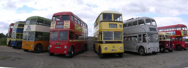 Trolleybus Museum at Sandtoft (UK)