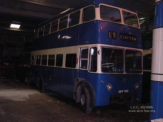 Karrier W4 (1945), re-bodied East Lancashire (1960)