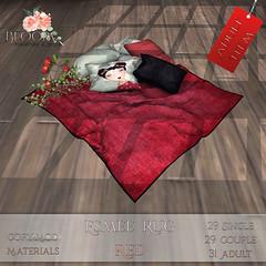 Bloom! - Esmee Rug Red A AD