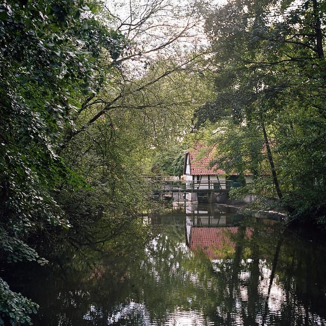 Wassermühle am Rotbach in Hiesfeld