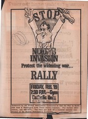 National student antiwar conference at Catholic U.- 1971