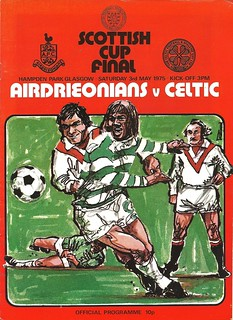 Airdrieonians v Celtic 19750503