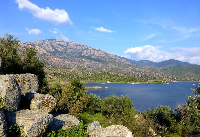 Bafa Lake, Kapikiri, Turkey