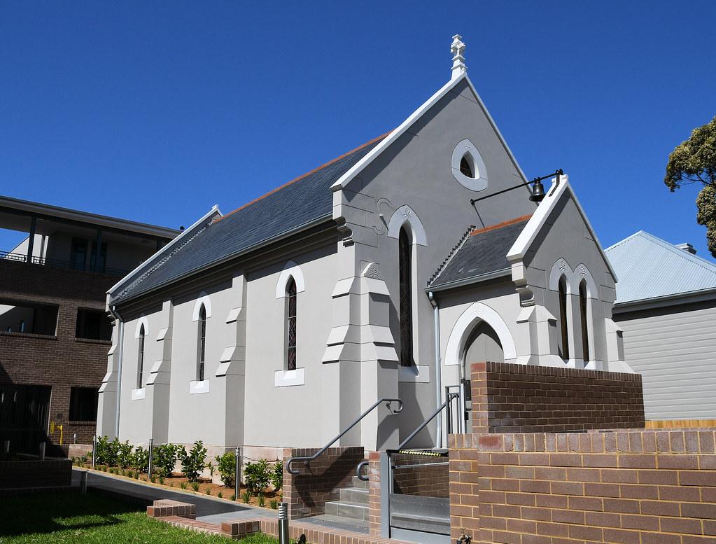 Former Presbyterian Church, Botany, Sydney, NSW.