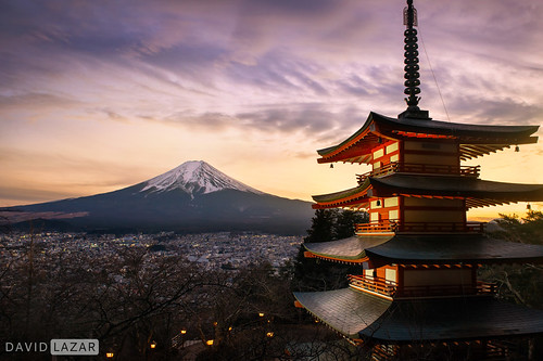 Mount Fuji at Dusk | by David_Lazar