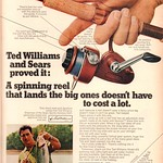 Sun, 2020-07-05 17:48 - 1970 Sears Rod and Reel with Ted Williams Advertisement Sports Afield April 1970