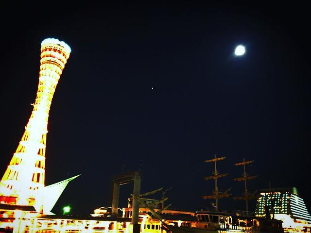 中秋の名月 at 神戸