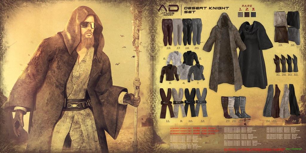 [AD] – Desert Knight SET
