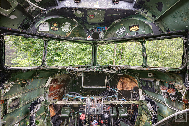 what a pilot certainly not want to see in the window