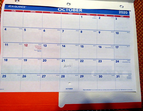 October 2020 Paper Diary