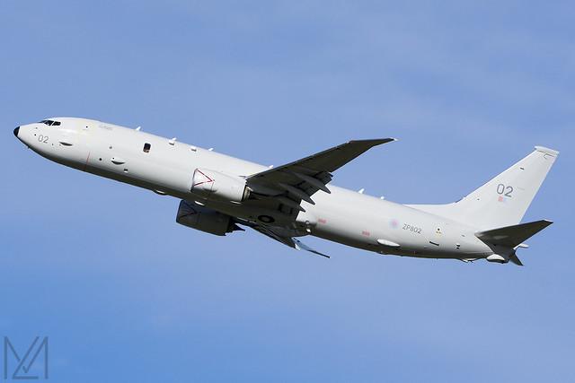 Royal Air Force, Boeing P-8A Poseidon MRA Mk1, ZP802