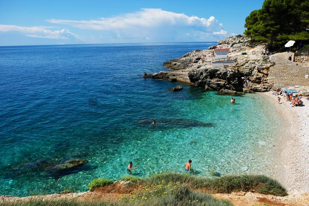 Hawaiian Cove Beach, Pula, Croatia