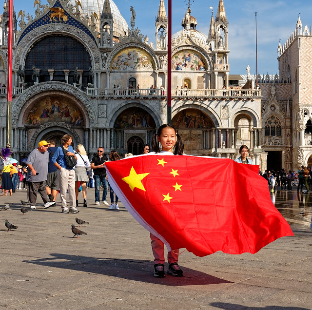 Venice / National Day of the People's Republic of China / 国庆节 / 2019 / 1/2