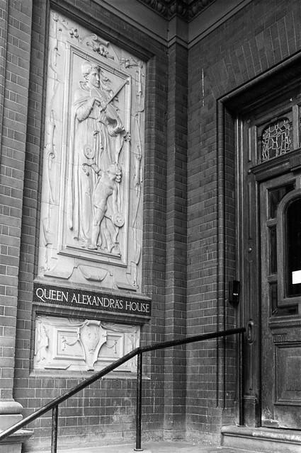 Queen Alexandra's House,  Kensington Gore, Kensington & Chelsea, 1988 88-4d-62-positive_2400