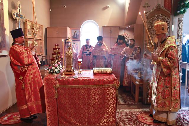 Престольный праздник храма святых мучениц Веры, Надежды, Любови и матери их Софии 30.09.2020