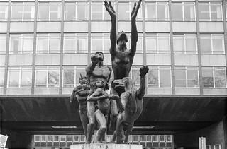 Sculpture, Edinburgh Gate,  Knightsbridge, Kensington & Chelsea, 1988 88-4b-62-positive_2400