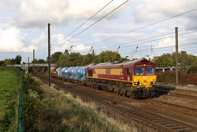 66108+66122 3S21 chaloners whin 01.10.2020