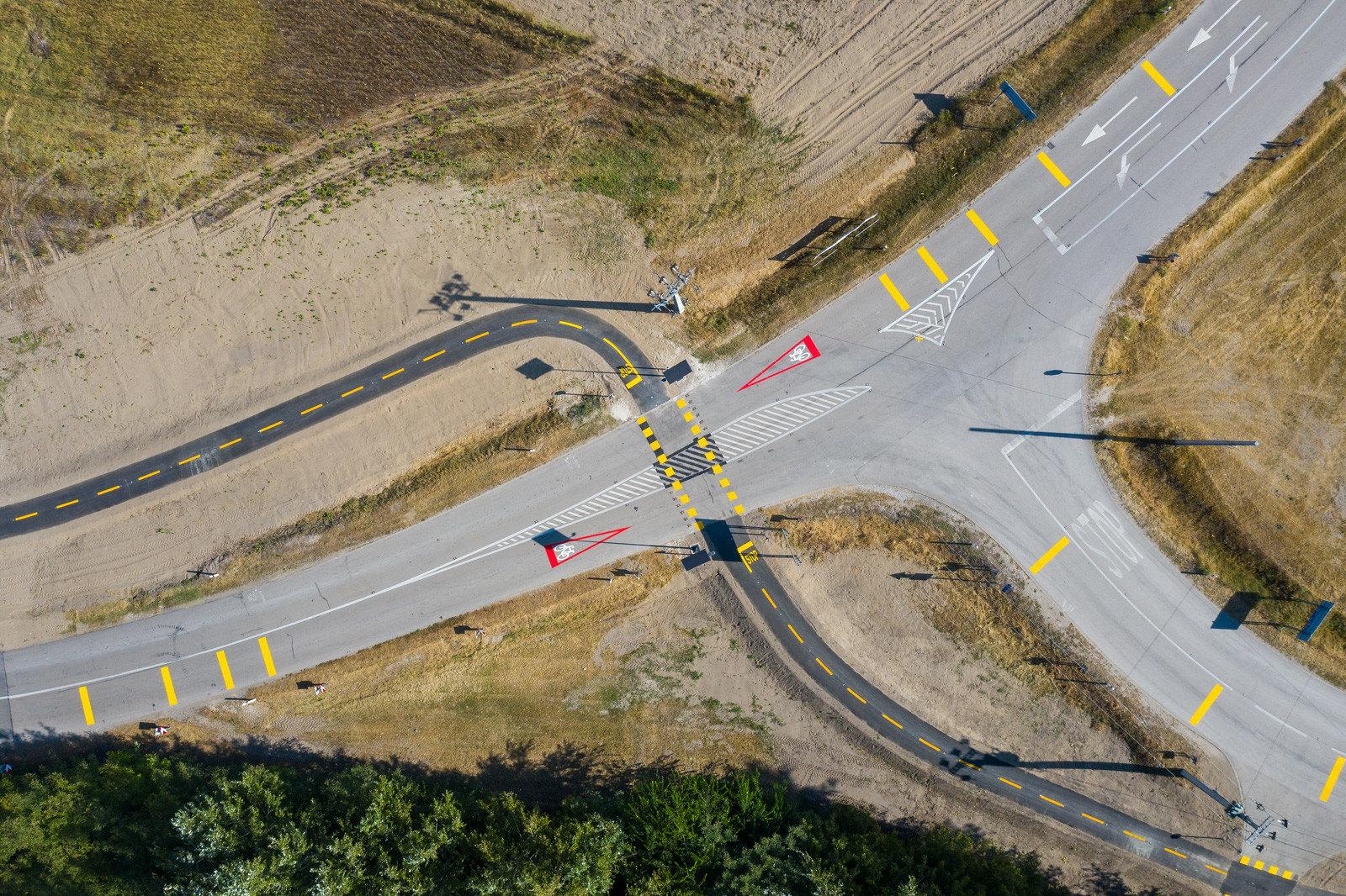2 hónap alatt építettek 7 kilométer kerékpárutat Ásotthalom és a határ között