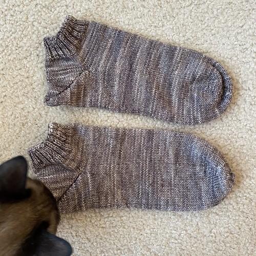 Caleb's Kitten socks