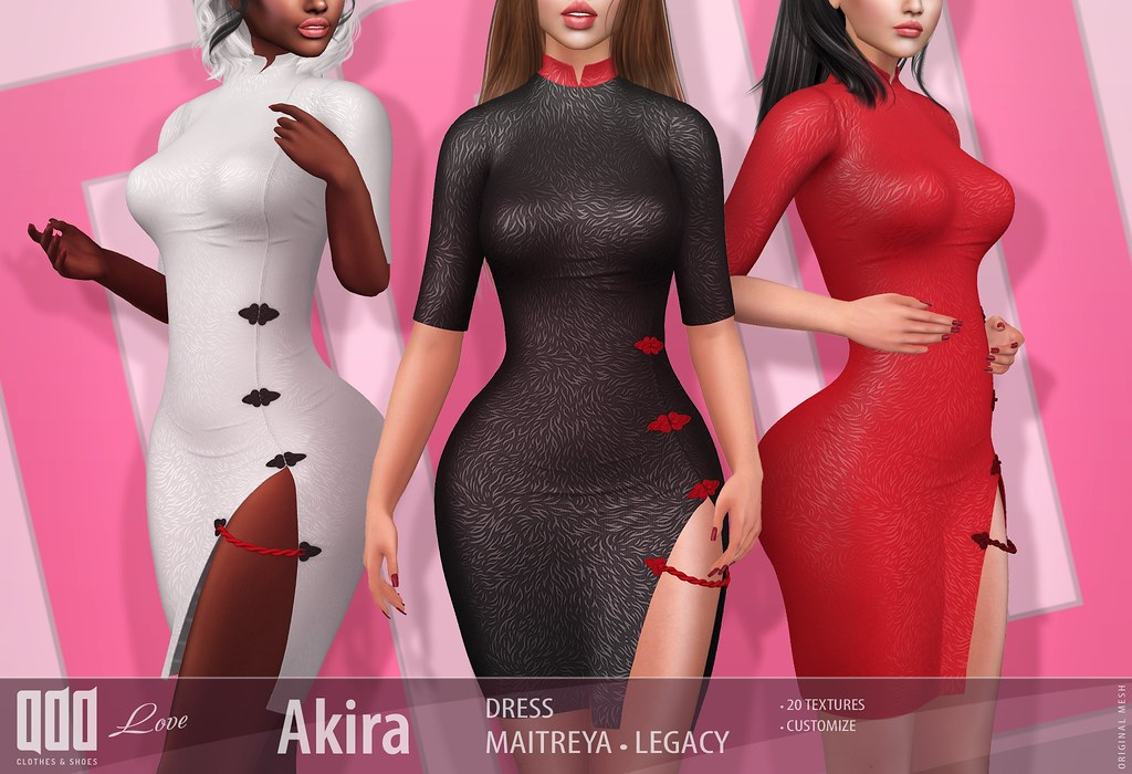 New release – [ADD] Akira Dresss