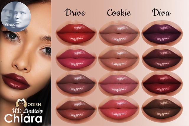 Chiara-genus-Lips @ Miix event