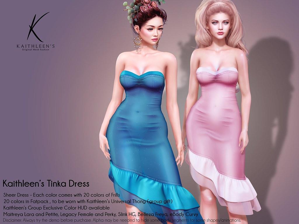 Kaithleen's Tinka Dress Poster web