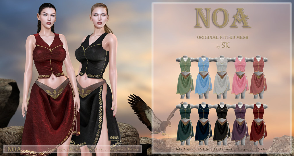 NOA by SK poster
