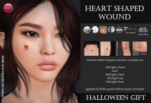 Heart Shaped Wound (Halloween Gift 2020)