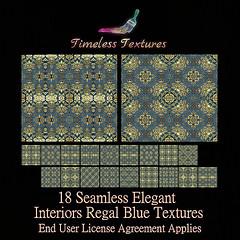 TT 18 Seamless Elegant Interiors Regal Blue Timeless Textures